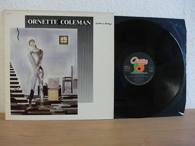 Ornette Coleman Of Human Feelings Lp Uk In Mint