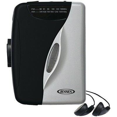 - Jensen Stereo Cassette Player with Am/FM Radio