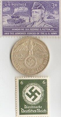 -* WW2 - *US  and  *german  coins  and   stamps +..
