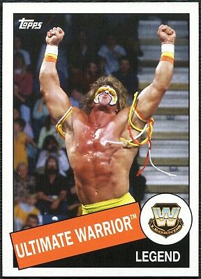 Ultimate Warrior #47 WWE Heritage 2015 Topps Trade Card (C1994)