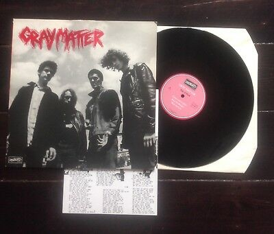 """Gray Matter 12"""" take it back    dischord Records Minor Threat"""