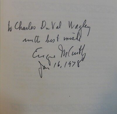 "Rare Senator Eugene McCarthy Signed Book ""Mr. Raccoon and His Friends""-6/16/1978"