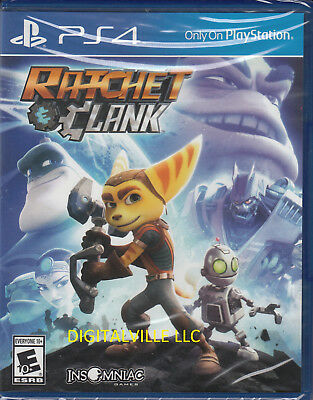 Ratchet & Clank PS4 Sony PlayStation 4 Brand New Factory Sealed
