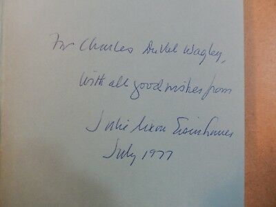 """Julie Nixon Eisenhower signed book """"Special People""""-dated July 1977-1ST Edition."""