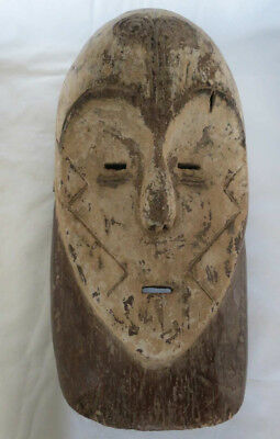 Fang Mask by Fang People, Southern Cameroon 19th Century