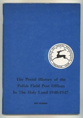 PALESTINE, POLISH FIELD POST OFFICES in the HOLY LAND, WW2 Postal History POLAND