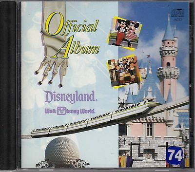 The Official Album of Disneyland and Walt Disney World CD RARE OOP CAT# 60820-2