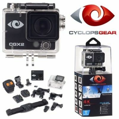 Cyclops Cgx2 4K Full Hd Action Cam Motorcycle Car Truck Side By Side Atv Utv