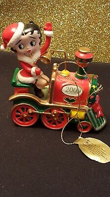 DANBURY MINT BETTY BOOP 2009 CHRISTMAS ANNUAL HOLIDAY ORNAMENT Holiday Express