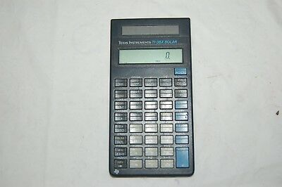 Texas Instruments TI-36X Solar Scientific Calculator No cover Pre-owned