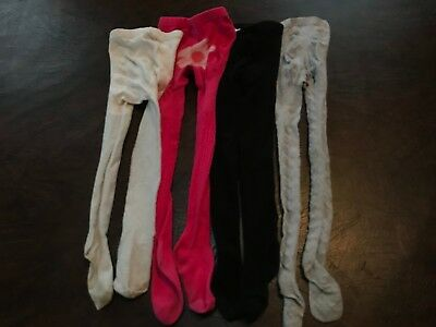 Girl's Tights 4-6   Lot of 4