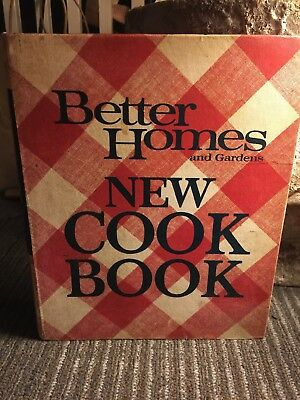 Vintage Better Homes and Gardens New Cook Book 1981 Spiral Bound Hardcover