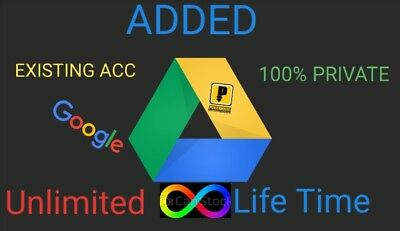 Unlimited drive google for life time one time payment google unlimited life