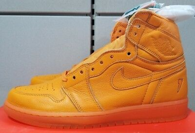 Air Jordan 1 Retro High OG G8RD Orange Peel Size 10 - AJ 5997-880