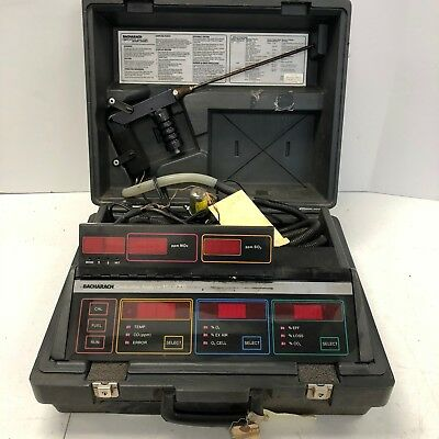 Bacharach Model 300 300NSX  NOx SO2 Combustion Analyzer Tested and Working