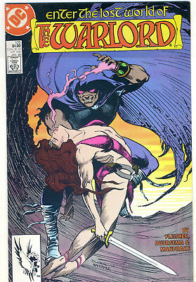 DC Comics Enter The Lost World of The WARLORD #125 (1988 Jan)
