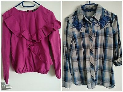 Bundle of 2 Womens Tunic and Blouse Reserved Size 8