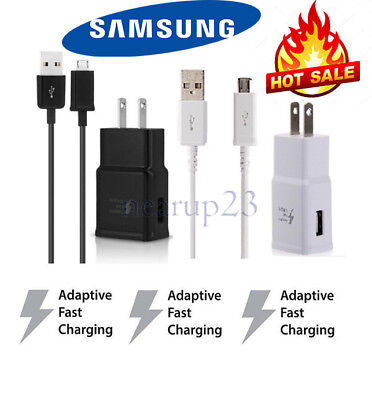 Samsung Adaptive Fast Rapid Wall Charger For LG Stylo 3 K20 Plus Samsung J3 J7