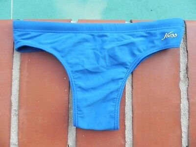 Boys Swim Briefs Bikini Royal Blue Size 14 Y/o