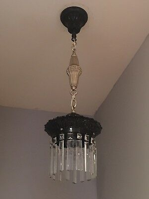 Rare Antique 1900's Railroad Chandelier