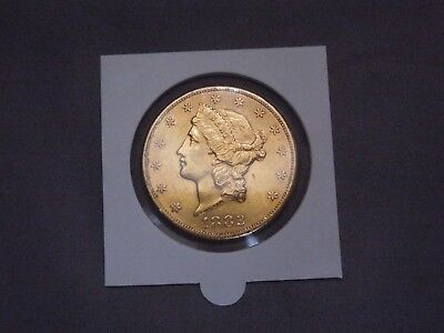 1882 - S Liberty Head $20.00 Gold | Double Eagle | US Coin