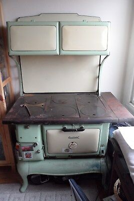 Vintagewood burning cook stove by Occidental
