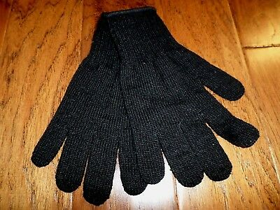 Military Style D3A Cold Weather Glove Liners 70% Wool 30% Nylon Size X- Large