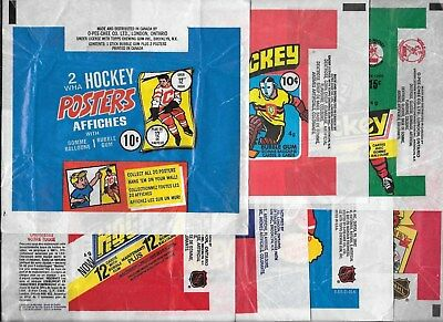 Hockey Wax Pack Wrapper Opc O Pee Chee Topps Nhl See List