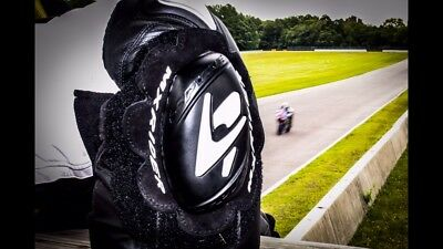 Motorcycle Knee Sliders Pucks Hard Compound Free Shipping