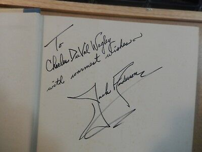 "Pulitzer Prize Winner Jack Anderson Signed Book ""Confessions of a Muck-raker"""
