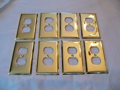brass coated outlet covers