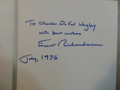 """Elliot Richardson Signed Book """"The Creative Balance""""-First Edition-dated July 76"""