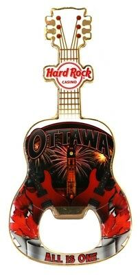 Hard Rock Ottawa Casino Magnet Bottle Opener