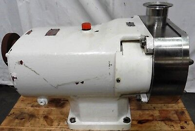 G155138 Ibex Pumps GH/732 Positive Displacement Rotary Lobe Pump