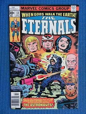 Eternals # 13 - (Vf+) - The Astronauts