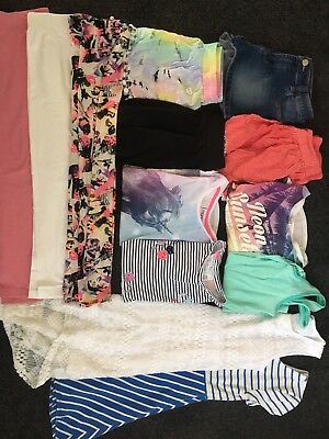 Bulk Pack Girls Summer Clothes Size 10 - Thirteen Items!