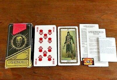 DISHONORED Tarot Deck - Playing & Divinatory Cards COMPLETE!