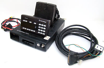 Motorola Spectra T83FWA7HA9AK VHF Mobile Radio 146-174 Mhz Complete & Working A