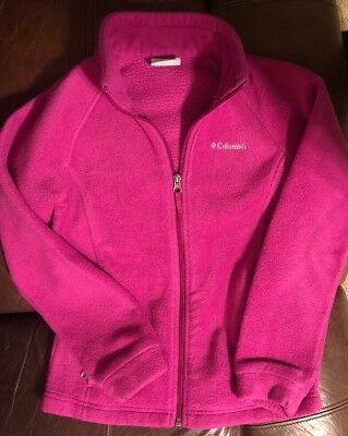 Fleece columbia jacket Girls 10/12