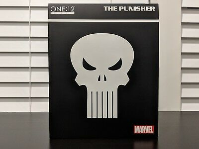 Mezco One:12 Collective MARVEL THE PUNISHER Original Release Action Figure