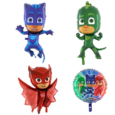 Folienballon PJ Masks Pyjamahelden Ballon Kindergeburtstag Party Deko Ballons