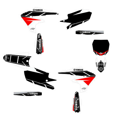 2019 YZF250 Retro Graphic Kit White/Red FREE SHIPPING!!!