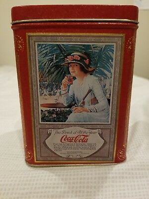"""1994 Coca-Cola Tin """"The Drink of All the Year"""" *Vintage*"""