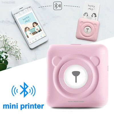 4259 Mini Pocket Wireless Thermal Picture Photo Printer For Smart Phone Portable