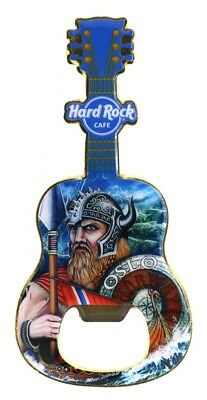 Hard Rock Cafe Oslo Norway Viking Magnet Bottle Opener