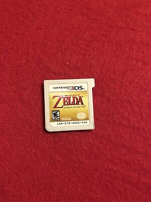 The Legend of Zelda Ocarina of Time 3D Nintendo 3DS Used Tested Cartridge Only