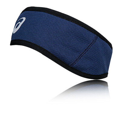 ASICS WINTER Mens Womens Blue Moisture Running Warm Sports Hairband Headband