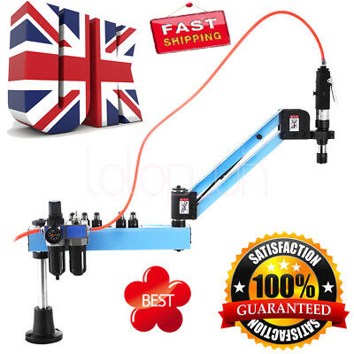 UK Flexible Arm Pneumatic Air Tapping Machine Multi-direction Tapping M3-M12 ISO