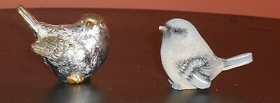 2 Bird Figurine Collection Country Decor Rustic