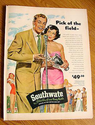 1949 Southwate Schloss Bros Keith Ad  Summer Suites 1949 Kroehler Furniture Ad